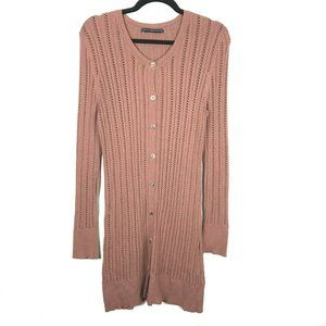 Peruvian Connection Long Sleeve Button Cardigan M
